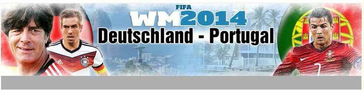 today (16Jun2014) 6 PM Germany time zone http://www.bild.de/sport/fussball/wm-2014/alle-infos-deutschland-portugal-live-ticker-36396916.bild.html