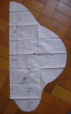 Tuto de ma couverture nomade pour bébé en 12-18 mois ou Taille 1: de 0 à 4 mois (h = 66cm) - Taille 2: de 4 à 9 mois (h = 85 cm)