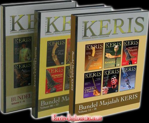Majalah Keris Book vol. 1-6 | $36.99 USD
