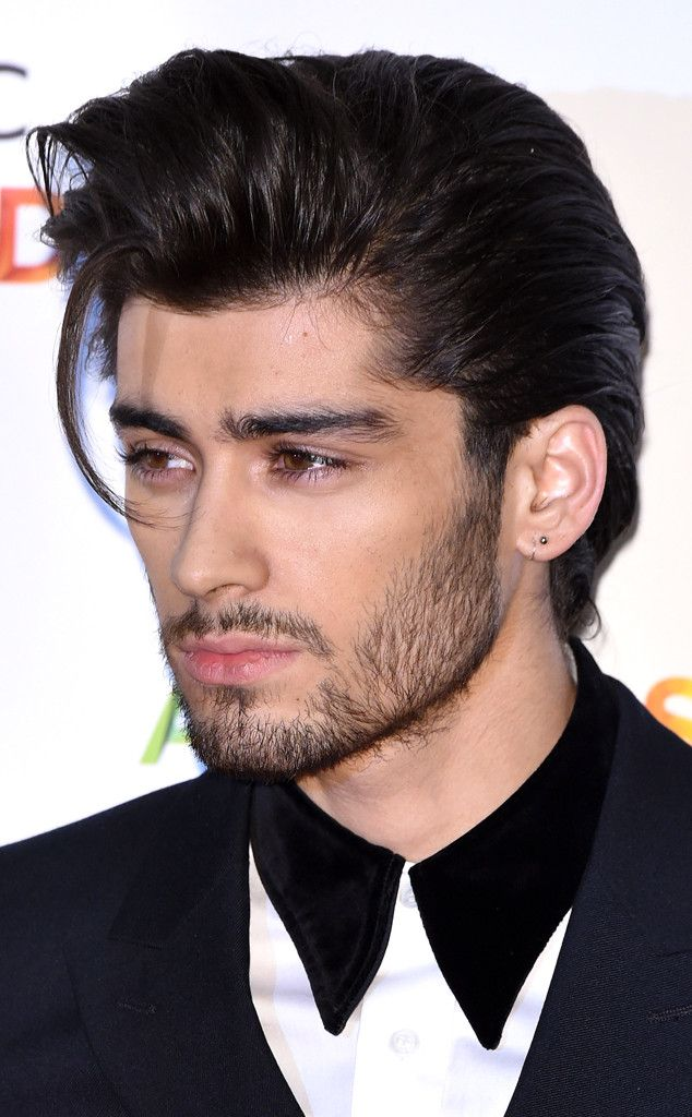 Dashing Fellow from Zayn Malik's Hair Transformations  2014