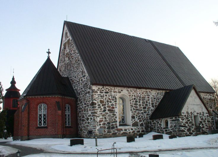 The construction of Lieto Church has been believed to began in the 1330s, but according to the new research, it was built between 1500 and 1530. The church was dedicated to St. Peter. The Neo-Gothic styled apse was added in 1902, and the altarpiece was painted by Eero Jarnefelt in 1908. The belfry was built in 1766.