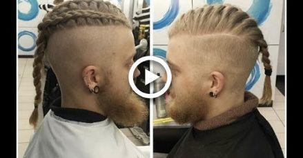 Braids For Men-10 Braided Top Knot /Man Bun Hairstyles For Men 2017-2018-Mens Lo   – mens top