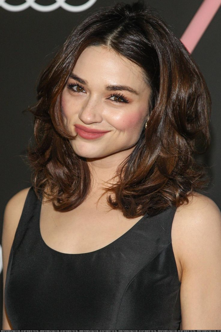 Oh No They Didn't! - This is a Crystal Reed + friends post Hair and Makeup