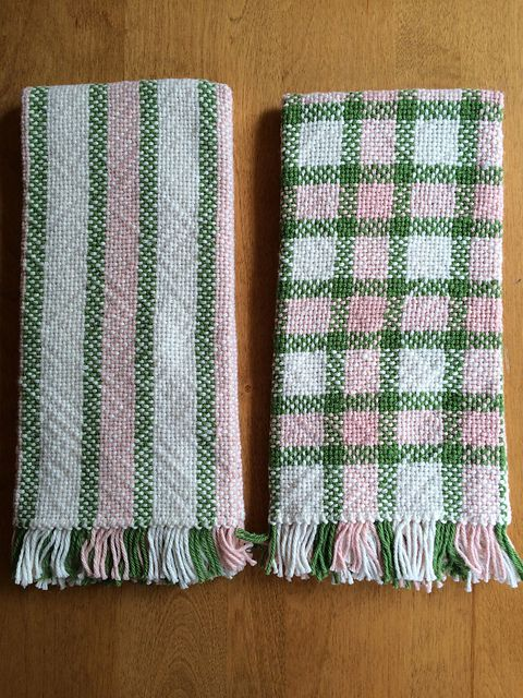 Ravelry: lartemis' Sister's Kitchen Towels, weaving project #3