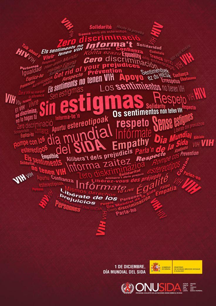 1 de diciembre: Día Mundial de la lucha contra el SIDA Para saber más > http://www.saludcastillayleon.es/ciudadanos/es/enfermedades-problemas-salud/sida-vih/1-diciembre-dia-mundial-sida-2015