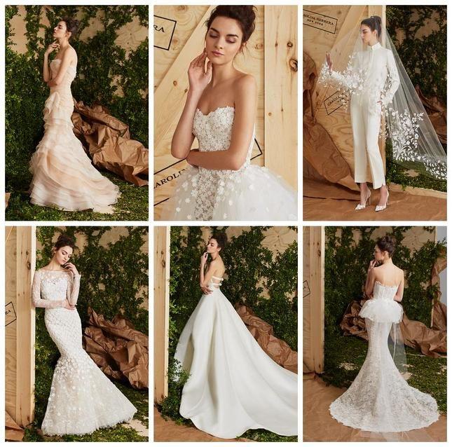 Каролина Херера (Carolina Herrera) представи булчинската си колекция за сезона пролет-лято 2017 г. Булчинските рокли на американската дизайнера са елегантни, женствени, романтични, но и предназначени за модерната жена от големия град, която обича винаги да се чувства комфортно.