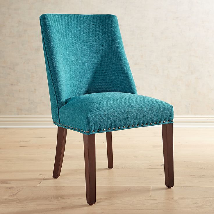 Corinne Teal Dining Chair