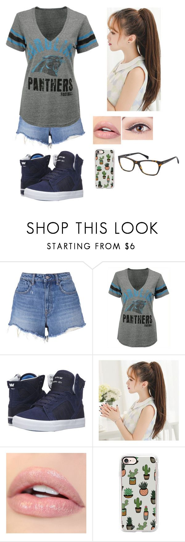 """""""Parque de Diversão - Camila"""" by juhmaria ❤ liked on Polyvore featuring T By Alexander Wang, G-III, Supra, Casetify and Ray-Ban"""
