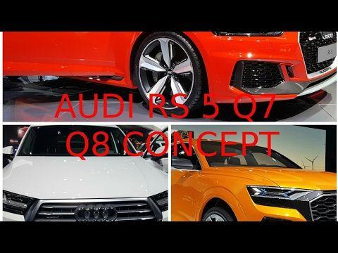 passion voiture hybride: Audio RS 5 Q7 e-tron Q8 Concept salon de Genève 20...