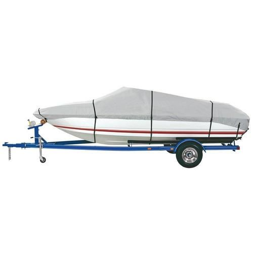 Dallas Manufacturing Co. Heavy Duty Polyester Boat Cover B - 14-16 V-Hull, Runabouts, Aluminum Bass Boats - Beam to 90