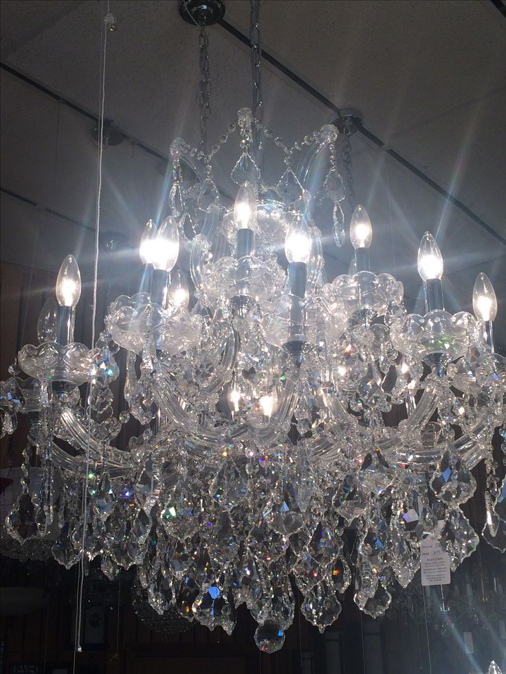 Chandelier at Pego Lamps. $2,009.