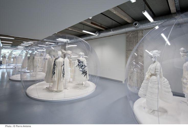 "Commes Des Garcons ""White Drama"" Fashion Exhibit"