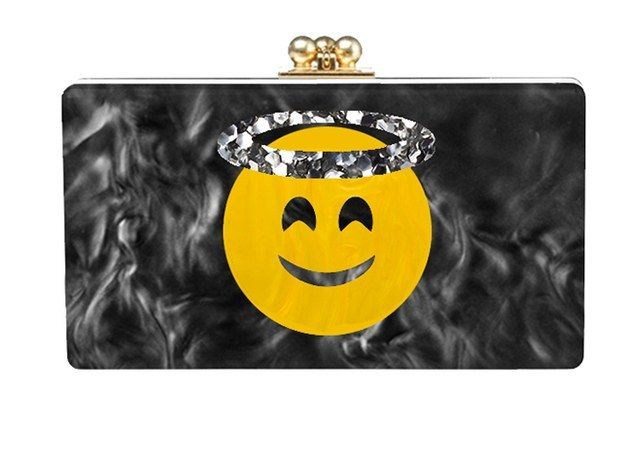 Show your emo-joy for emojis having their time to shine off-line | 15 Novelty Clutches To Up Your OOTD Game
