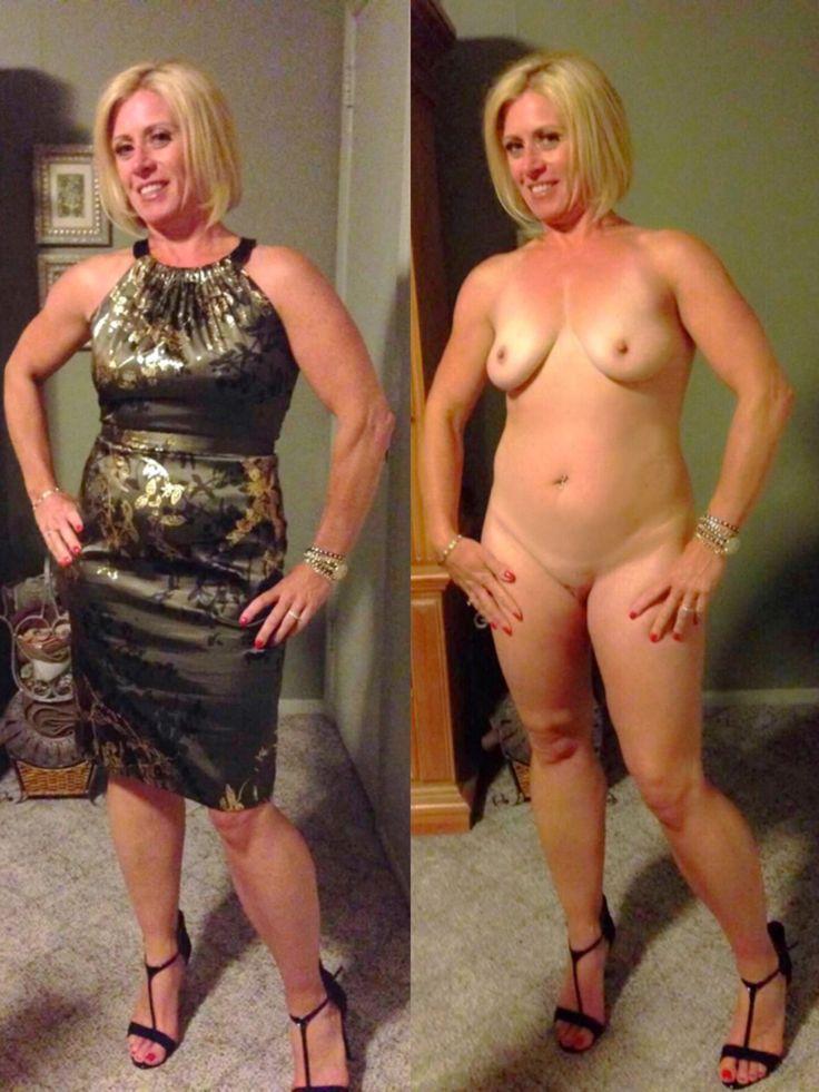 Older nude couple