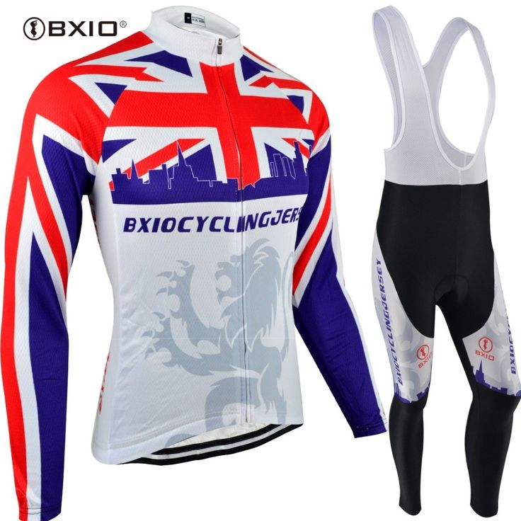 36.40$  Buy here - BXIO Pro Team Cycling Jersey Sets New Long Sleeve Equipacion CiclismoBike Clothing Spring Cycle Clothes China Skinsuit W070  #buyininternet