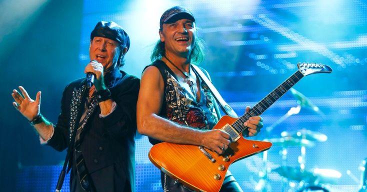 "Klaus Meine & Matthias Jabs ""Final Sting Tour 2012"" Belo Horizonte, Brazil (11/9/12)"