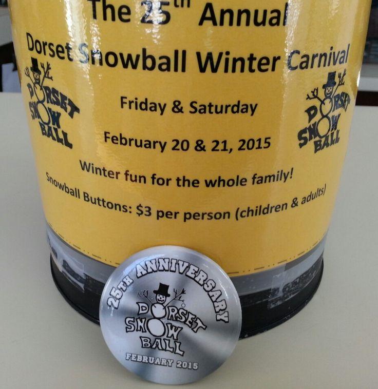 Get your Dorset Snowball Winter Carnival Buttons at #AveryAudio in #DorsetOntario!