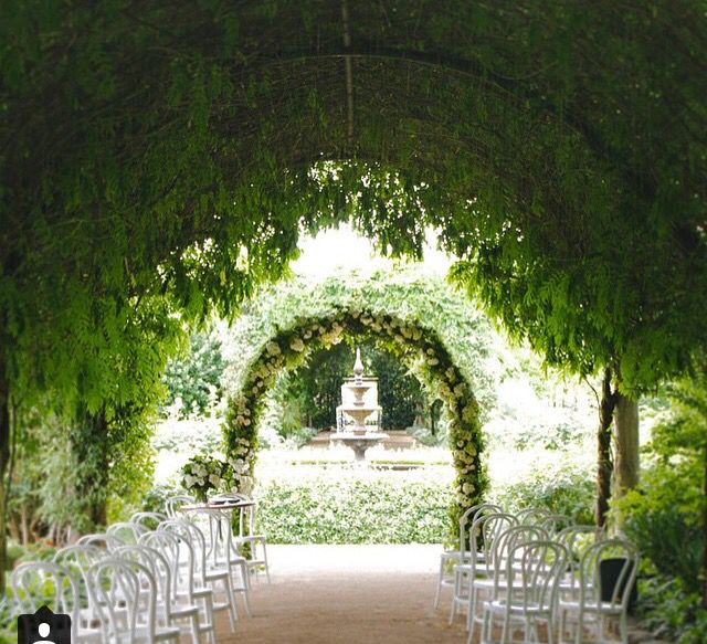 17 best images about alowyn weddings on pinterest for Beautiful gardens to get married in