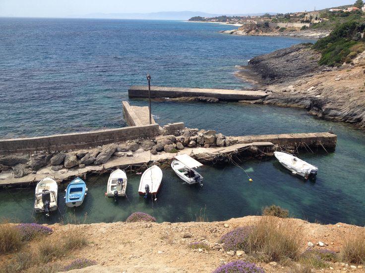 Pretty little bay in Skala, Kefalonia.