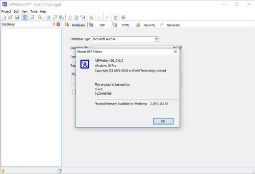 ASPMaker 2017 Keygen + License Key Final Download
