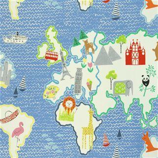 around the world - cobalt