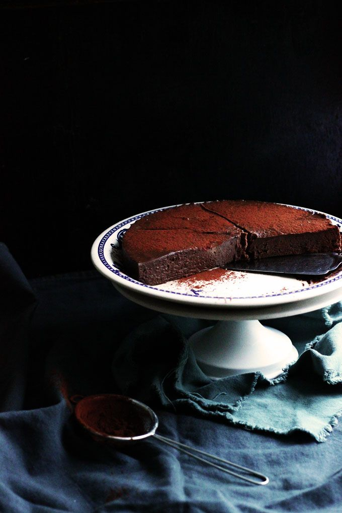 BAYADERKA- food recipes and photos. Blog kulinarny. pomysły na ciasta, desery i inne.: Bardzo proste ciasto truflowe/ Super easy truffle torte