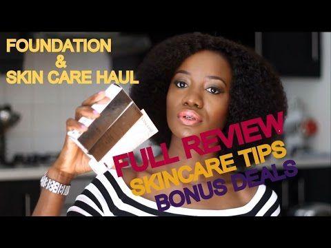 HUGE LANCOME HAUL ::: FOUNDATION | PRIMER | SKIN CARE & BONUS DEAL | MOJINTOUCH - YouTube