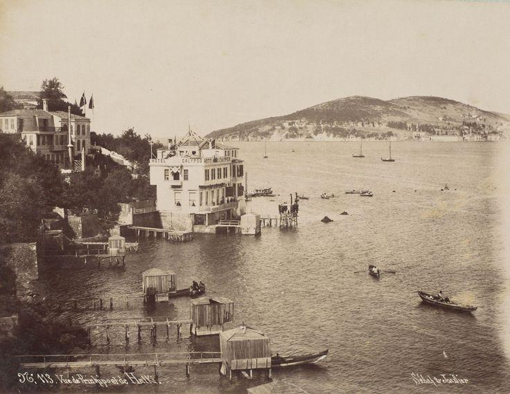 Büyükada / 1890'lar Sébah & Joaillier fotoğrafı