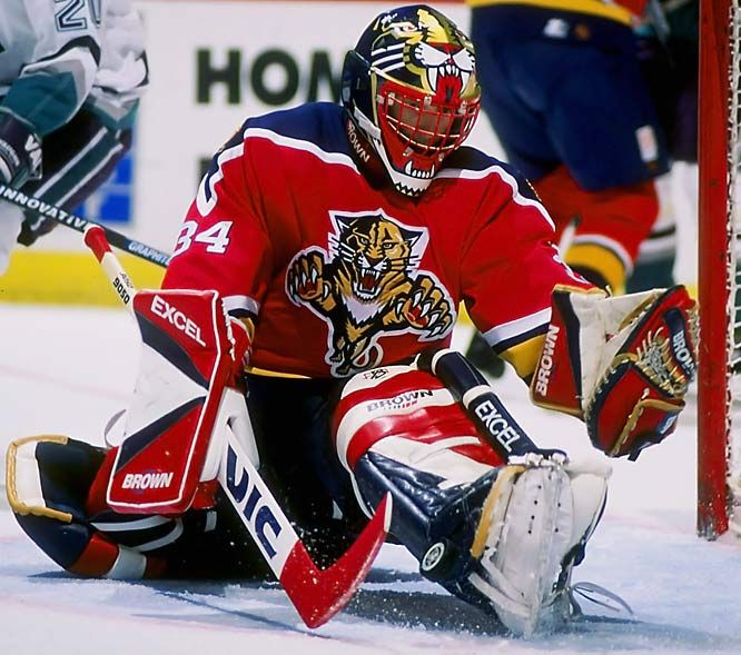 John Vanbiesbrouck, Florida Panthers  one of the best goalies florida has had!
