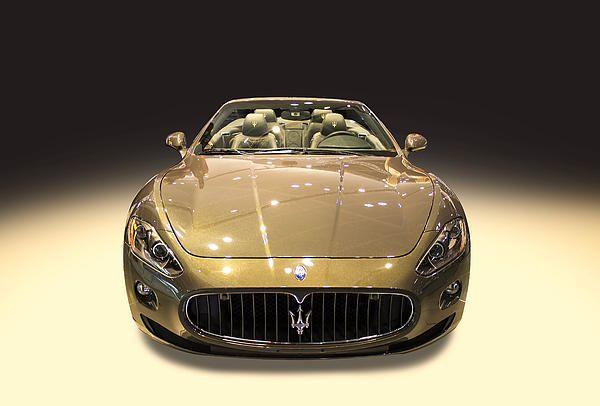 Maserati gold colour