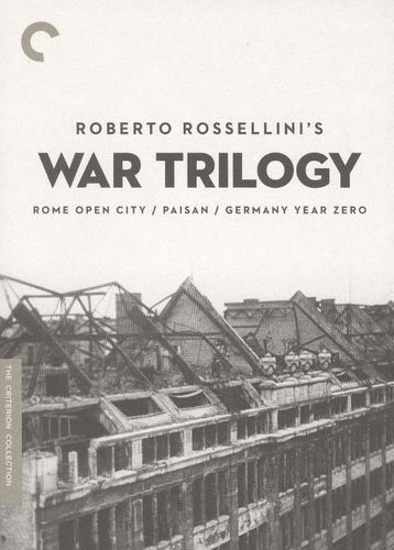 Roberto Rossellini's War Trilogy [Criterion Collection] [3 Discs] [DVD]