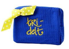 Tri delta makeup bag