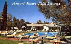 Howard Manor Hotel, Palm Springs, CAPsp Living, Atoms Architecture, Spring Prints, Palm Springs, Manor Hotels, Howard Manor, Vintage Palms, Palms Spring, Retro Palms