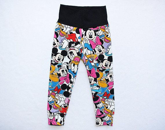 6aecba26f853f Baby Leggings 12-18 months Mickey Mouse Leggings Minnie Mouse Leggings  Toddler Girl Leggings Infant Mickey Leggings