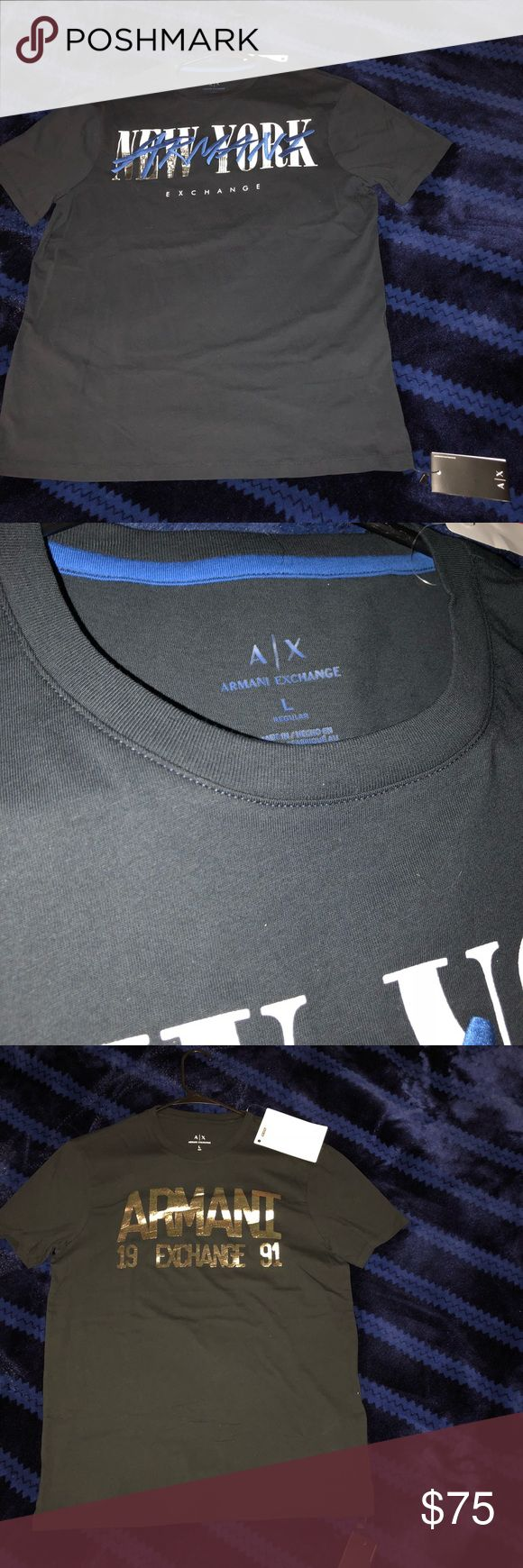 Armani Exchange Large Men's T-shirts Bundle Brand New Armani Exchange Men's T-shirts. All size large with tags. Bundle but can be sold separately on best offer. Never worn. Feel free to contact us with any questions. Shop With Confidence ! :) We ship within 24 hours Armani Exchange Tops Tees - Short Sleeve