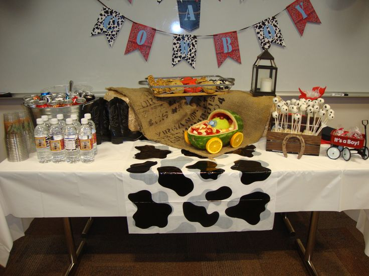Baby Shower Ideas For Cowboy ~ Western theme baby shower it s a cowboy my events