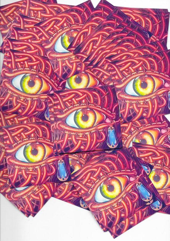 Mechanical illuminati sticker packs