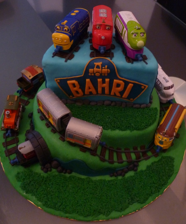 25 best Chuggington cakes images on Pinterest Birthday cakes