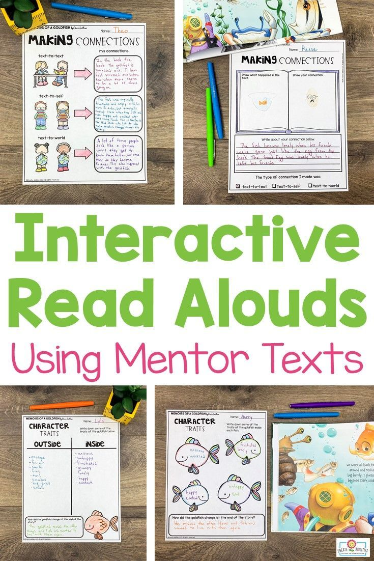 - Interactive Read Aloud Lesson Plans Interactive Read Aloud