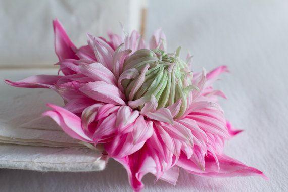 Fabric Flower Wedding Headpiece Floral by FloribundaSilkFlower, $145.38