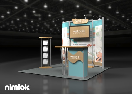 Nimlok Specializes In Trade Show Booth Design And