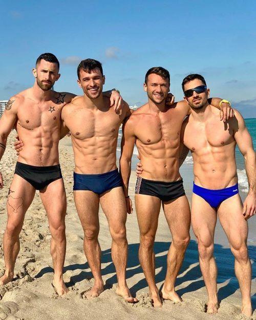 Gay muscle beach