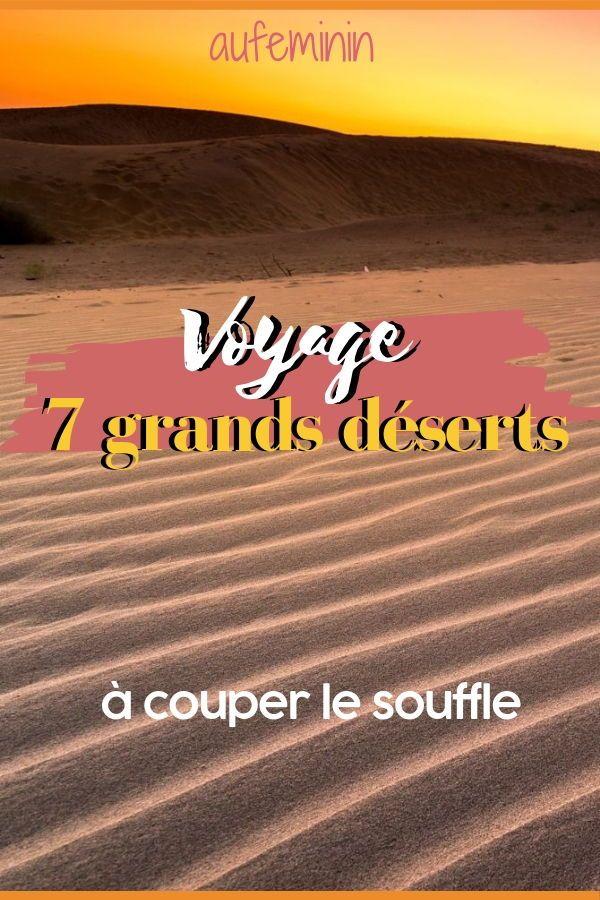 Le Plus Grand Désert Du Monde : grand, désert, monde, Grands, Spectaculaires, Déserts, Monde, Monde,, Tourisme,, Vacances, Destination
