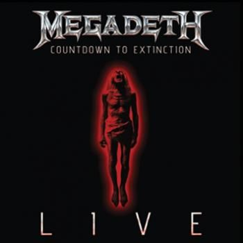 """L'album dei #Megadeth intitolato """"Countdown To Extinction: Live""""."""