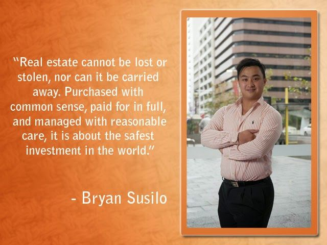 Artawijaya Susilo- Bryan and Patricia: Bryan Artawijaya Susilo- The Real Estate Businessm...
