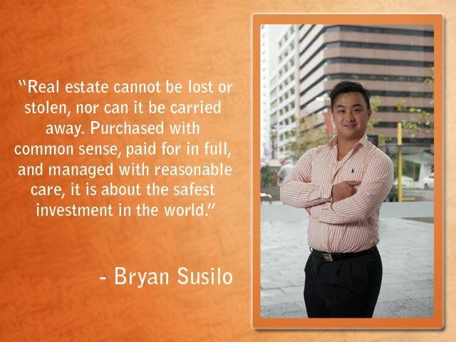 Artawijaya Susilo- Bryan and Patricia: Bryan Artawijaya Susilo- The Real Estate Businessm...