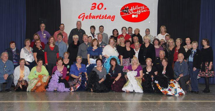 """30. Geburtstag Square Dance Club """"Hellweg Shufflers"""" Dortmund. Die Hälfte der Zeit kennen wir uns schon!"""
