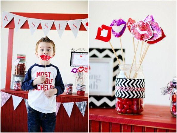 valentine photo kiss