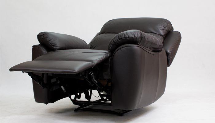 ALABAMA BIS, FOTEL TV Relax, Bujany, Obrotowy, Elektryczny Bostonsofa - skórzane meble wypoczynkowe