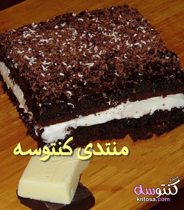 تحضير جاتوه شاتوه بالشيكولاتة طريقه عمل جاتو شاتو بالكريم شانتيه طريقة عمل جاتو شاتو Desserts Food Brownie